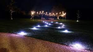 outdoor battery powered lighting core