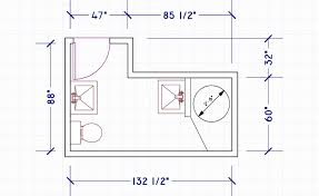 Small Bathroom Design Layouts #6090