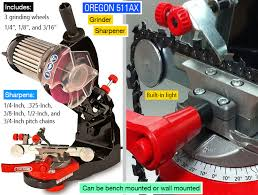 Oregon Grinding Wheel Chart Oregon 511ax Chainsaw Blade Sharpener Review