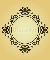victorian frame design. Stock Vector Of \u0027Vintage Frame In Victorian Style For Design As A Background\u0027 S