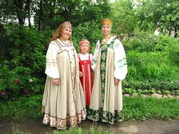 Модные костюмы для женщин Славянская Одежда Славянская Одежда