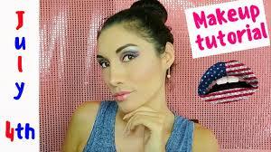 4th of july makeup ideas get ready with me 2018 kali sanchez vlogs
