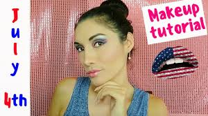 4th of july makeup ideas get ready with me 2018 kali sanchez vlogs