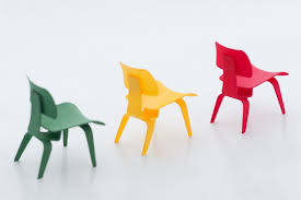 miniature designer furniture. 3D Printed Miniature Designer Chairs By Almiinty3D Furniture