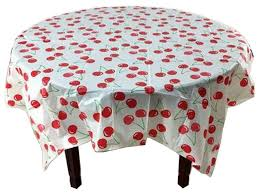 5 piece printing plastic table covers disposable party tablecloths cherry contemporary tablecloths by blancho bedding