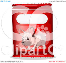red bulldog paw clipart. Perfect Paw Clipart Of A French Bulldog And Paw Print On Red Product Bag  Royalty  Free Vector Illustration By Graphics RF On R