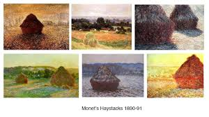 monet haystacks