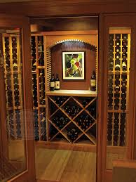 wine rack lighting. LED Lighting Kit In A Redwood Wine Cellar Rack
