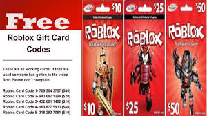 how to get roblox gift card codes free 2018 and roblox robux free