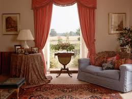 Of Living Room Curtains Living Room Amazing Maroon And Cream Windows Curtain Ideas For