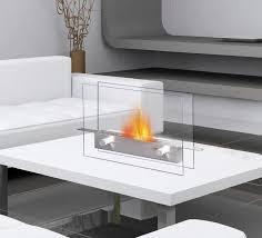 metropolitan tabletop indoor outdoor fireplace