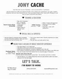 Resume Template Word 2013 Interesting Resume Templates Word 48 Fresh Modern Resume Template Word Free