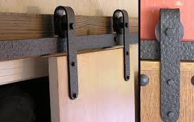 Agave Ironworks Sliding Barn Door Flat Track Rail Rolling Stirring ...