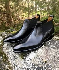 While you can wear either leather or suede chelsea boots for a casual look, the latter will have a more relaxed. Handmade Men Black Leather Chelsea Boots Men Casual Fashion Black Ankle Boots Rangoli Collection Online Store Powered By Storenvy