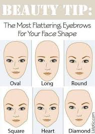 brows 101 how to properly shape your perfect eyebrows to suit your face shape
