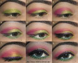 fantasy makeup step by photo 2