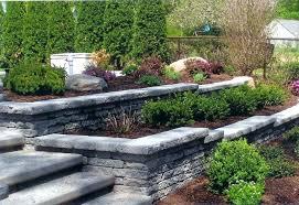 retaining wall designs landscape retaining wall ideas superior retaining wall ideas bodacious landscape retaining wall design