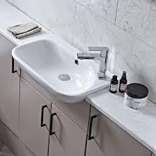 roper rhodes note slim semi countertop basin