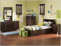size bedroom kids green