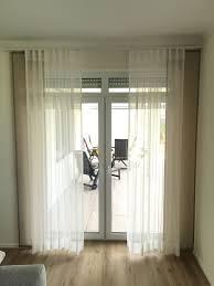Gardinen Store Taupe Spitze Weiß Schal Für Große Fenster