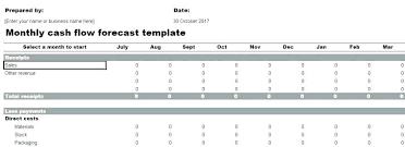 Cash Flow Statement Template Uk Free Cash Flow Statement Templates Forecast Template Excel Use This