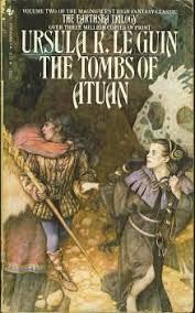 the tombs of atuan by ursula k leguin science fiction bookschildren readingbook authorsinspiring artcover artlibrary