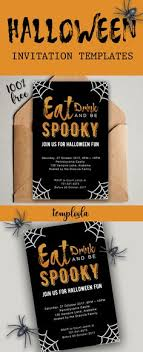 Word Halloween Templates 10 Best Halloween Invitation Templates In Word Images Invitaciones
