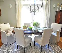 15 slipcovers for dining room chairs with arms brilliant dining chair slipcovers tips for large dining
