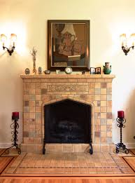 living room cool fireplace tile designs gallery 09 spanish tile fireplace designs