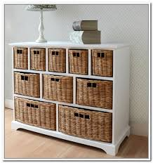 Captivating Architecture And Home Design: Appealing Storage Furniture With  Baskets Peachy Design Ideas Idea Of