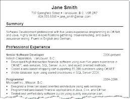 Example Summary Resume Professional Summary Professional Summary