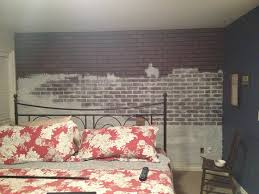 Painting Fake Brick Paneling Already Have The Faux Brick Paneling This Will Improve The