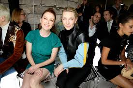 louis vuitton youth. cate blanchett, julianne moore, alicia vikander \u0026 so many more stars hit up louis vuitton\u0027s paris show vuitton youth /