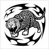 Vektor Levhart Tribal Tetování 19904385 Fotobanka Fotkyfoto