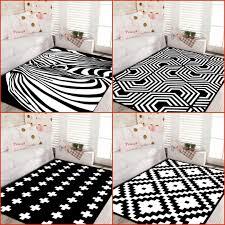 Großhandel Moderne Stil Geometrische Schwarz Und Weiß Nordic