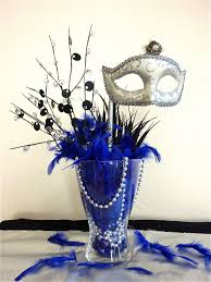 Table Decorations For Masquerade Ball Image detail for After a bit of tweaking adding blue peacock 26