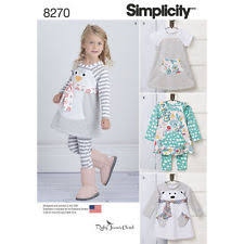 Simplicity Patterns On Sale Magnificent Simplicity Toddler Dress Sewing Patterns For Sale EBay