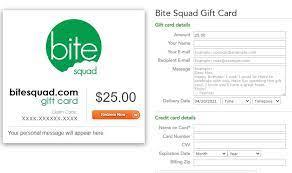 Bite squad gift card redemption. Does Bitesquad Offer Gift Cards Knoji