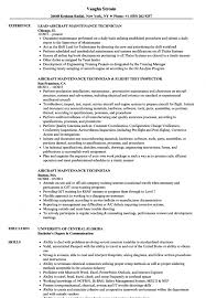 Sample Aviation Resume Aircraft Maintenance Technician Resume Samples Velvet Jobs Aviation 53