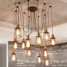 vintage lighting pendants. 44 Most Tremendous Industrial Chandelier Lamp Vintage Lighting Beautiful Diy Home Decor Ideas Aisini Edison Multiple Ceiling Spider Light Pendant Chandeli Pendants U