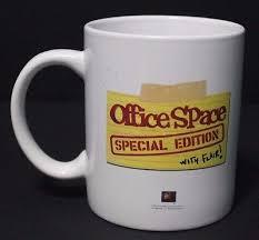 office space coffee mug. office space bill lumbergh uh yeah initech ceramic coffee mug cup white whatu0027s it worth