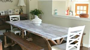 white washed dining room furniture. White Washed Kitchen Table Amazing Impressive Wooden Dining For Wood In Room Furniture F