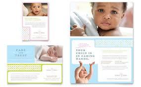 Babysitting Ads Infant Care Babysitting Flyer Ad Template Word Publisher
