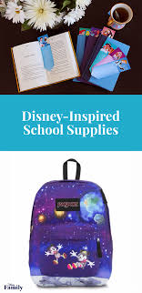 14 back to school supplies for your disney family
