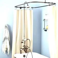 hoop shower rod aluminum shower rods hoop shower curtain rod curtain rod home aluminum double curved