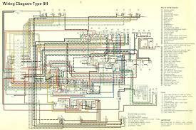 porsche 911 electrical diagrams 1965 1989 electrical diagram 911 1965