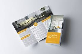 Real Estate Trifold Brochure Creativework247 Brochure