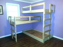 diy bunk bed with stairs bunk beds inspirational with plans guide patterns for loft bed building