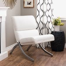 the most furniture contemporary white leather chair ottoman with chrome with white bonded leather chair ideas