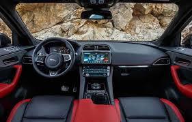 2018 jaguar interior. fine 2018 jaguar fpace svr 2018 redesign review release date and powertrain throughout jaguar interior